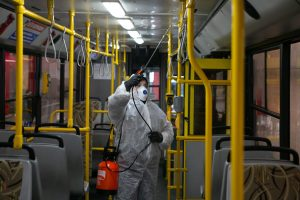 Public Transport Disinfection Sanitizing