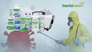 cleaning, disinfectant spraying and fogging